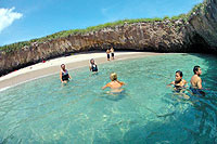 Hidden Beach, Marietas Islands