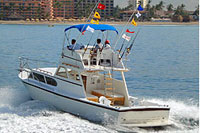 37' Custom Puerto Vallarta Fishing Boat