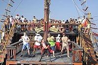 Puerto Vallarta Pirate Ship Tour Marigalante - Pirate ship booze cruise