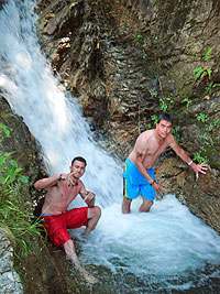 Puerto Vallarta Waterfall Excursion. Plantation Restauarant, Puerto  Vallarta Botanical Gardens