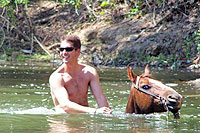 Swim With Your Horse in Puerto Vallarta