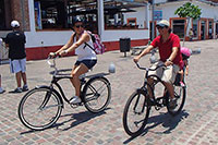 Biking  in Puerto Vallarta