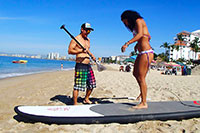SUP Paddleboarding Lessons Puerto Vallarta